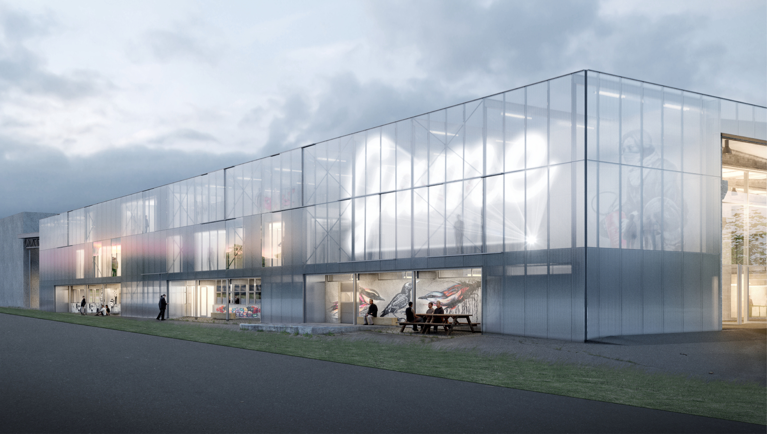 EFFEKT's Winning Proposal Converts Abandoned Warehouse