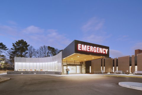 Methodist South Emergency Department Addition  brg3s archite