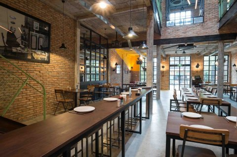 Industrial Brewery Pub In Saigon  T3 Architecture Asia